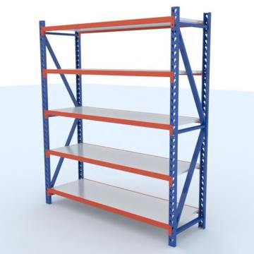 Adjustable Industrial Storage Shelf with Bins