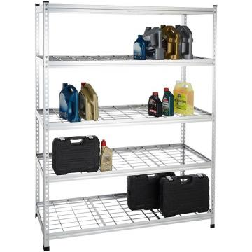 Chrome or Stainless Steel Storage Wire Mesh Shelving 071711